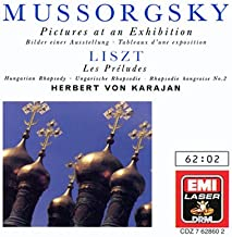 Mussorgsky: Pictures; Liszt: Preludes, Hungarian Rhapsody 2