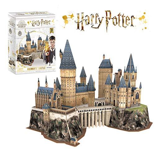 Puzzle 3D Harry Potter - Castillo de Hogwarts, Puzzles 3D, Maquetas para Construir Adultos, Regalos Divertidos, Regalo para Niños, Decoracion Habitacion, 197 Piezas