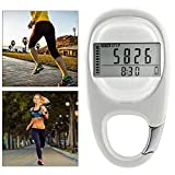 LIOWE Simple Walking Pedometer Step Counter with Clip for Men Women Kids, Accurately