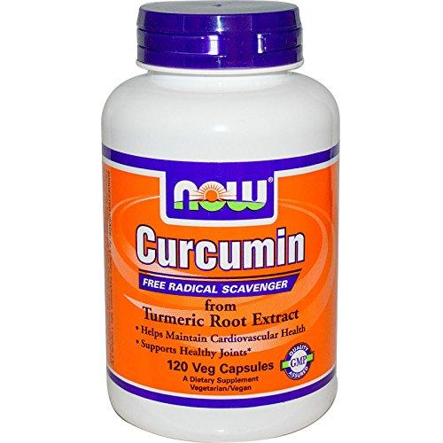 Curcumin EXTRACT 95%/665mg (120 cápsulas vegetais) Now Foods