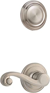 Kwikset 968LL LH 15 968LL-LH Lido Left Hand Dummy Interior Pack, Satin Nickel
