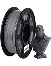 ANYCUBIC PLA Filament,3D Printer Filament 1.75mm Dimensional Accuracy +/- 0.02 mm for Most FDM 3D Printers 1KG/Roll(Grey)