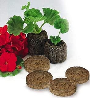 RainbowCo 25mm Nursery Soil Garden Flowers Planting- The Soil Block Plant Seedlings- Nursery Pots Seeds- Peat Pellets Seed Starting Plugs Pallet Seedling Soil (50)