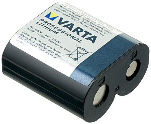 Varta CR-P2 – Batterie, Lithium, prismatisch, 6 V, Schwarz