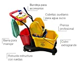Clim Profesional Carro de fregado Completo Profesional CLIM Compact. Sistema de fregado...