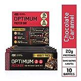 Optimum Nutrition Protein Bar, Barre Protéinée Avec Whey Protéine, Sans Sucre...