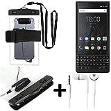 K-S-Trade® Für BlackBerry KEY2 (Dual-SIM) wasserdichte