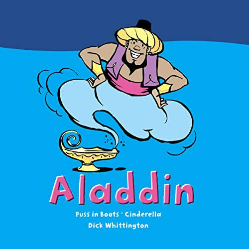 Aladdin and Other Stories audiobook cover art