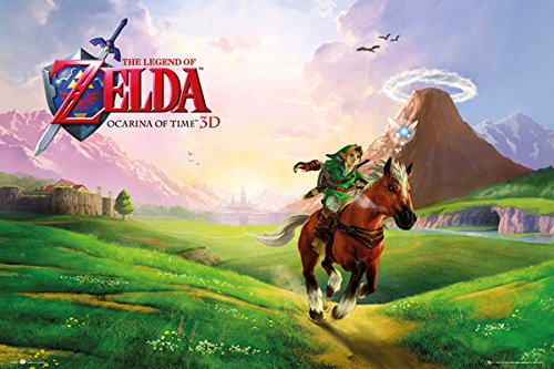 The Legend of Zelda: Ocarina of Time - Gaming Poster (Size: 36 inches x 24 inches)