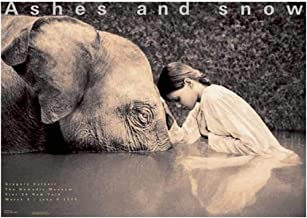 Ashes and Snow New York Girl With Elephant (Ashes and Snow Posters)