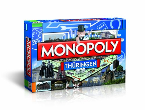 Winning Moves 42419 - Monopoly Thüringen