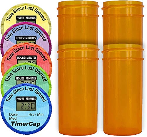 TimerCap Smart Pill Bottle Cap