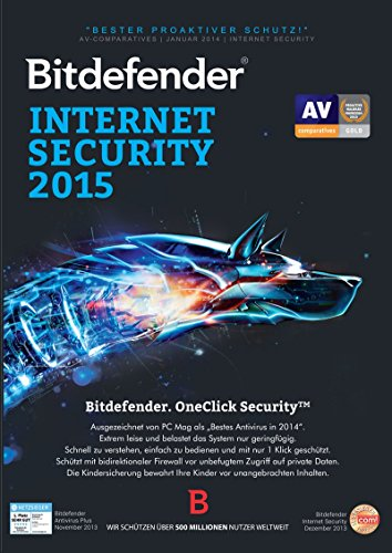Bitdefender Internet Security 2015 12 Monate / 1 User [Download]