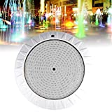 35W LED Swimming Pool Light, 360 LEDs IP68 Waterproof Underwater Light with Remote Control, AC 12V RGB Multicolor Underwater Lamp for Swimming Pool, Fountain, Rockery, Landscape Lighting