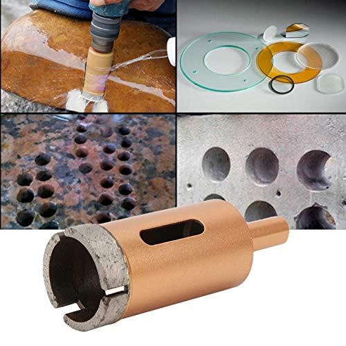 Broca, sierra para mármol, baldosas de cerámica, hormigón, vidrio, 25-38 mm, para taladro de banco, taladro eléctrico y máquinas herramientas con función de taladrado(30mm)