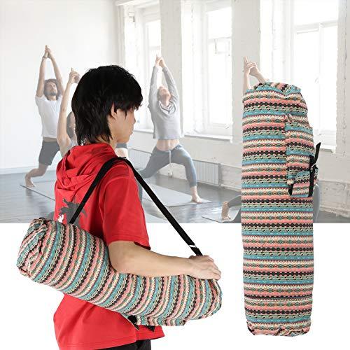 Okuyonic Zipper Wear- Yoga Mat Holders Bolsa de Hombro de Yoga para Mujer(Warm Colors)