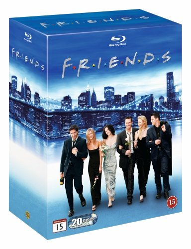 Friends - Die komplette Serie - Staffel 1-10 [Blu-ray] [EU-Import mit original deutschem Ton]