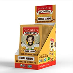 Coconut Oil - Orange Almond Flavor - 1-oz trial size12-pack