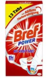 Bref Power WC Kraft Tabs 15x Effekt, 13 Tabs, Abfluss Tiefenreinigung