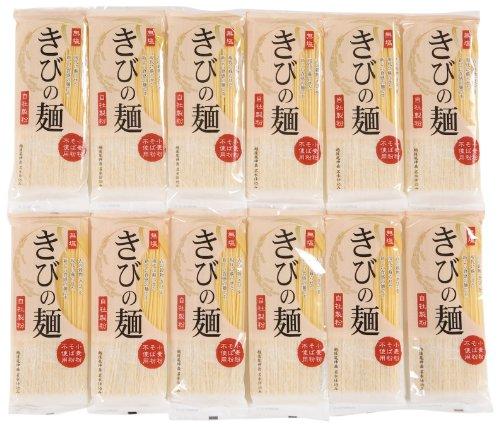 自然芋そば きびの麺 200g×12箱