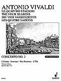 Die vier Jahreszeiten: 'Der Sommer' g-Moll. op. 8/2. RV 315 / PV 336. Violine, Streicher und Basso continuo. Klavierauszug mit Solostimme.