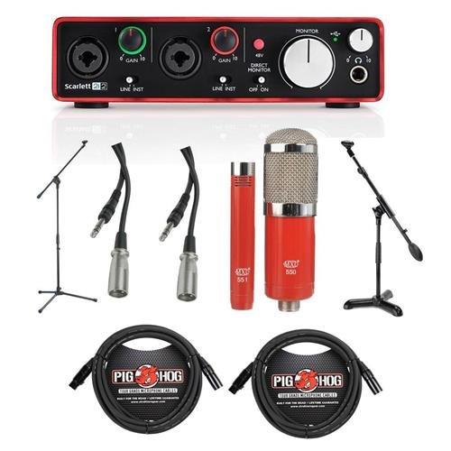 Home Recording Studio Package: Amazon com