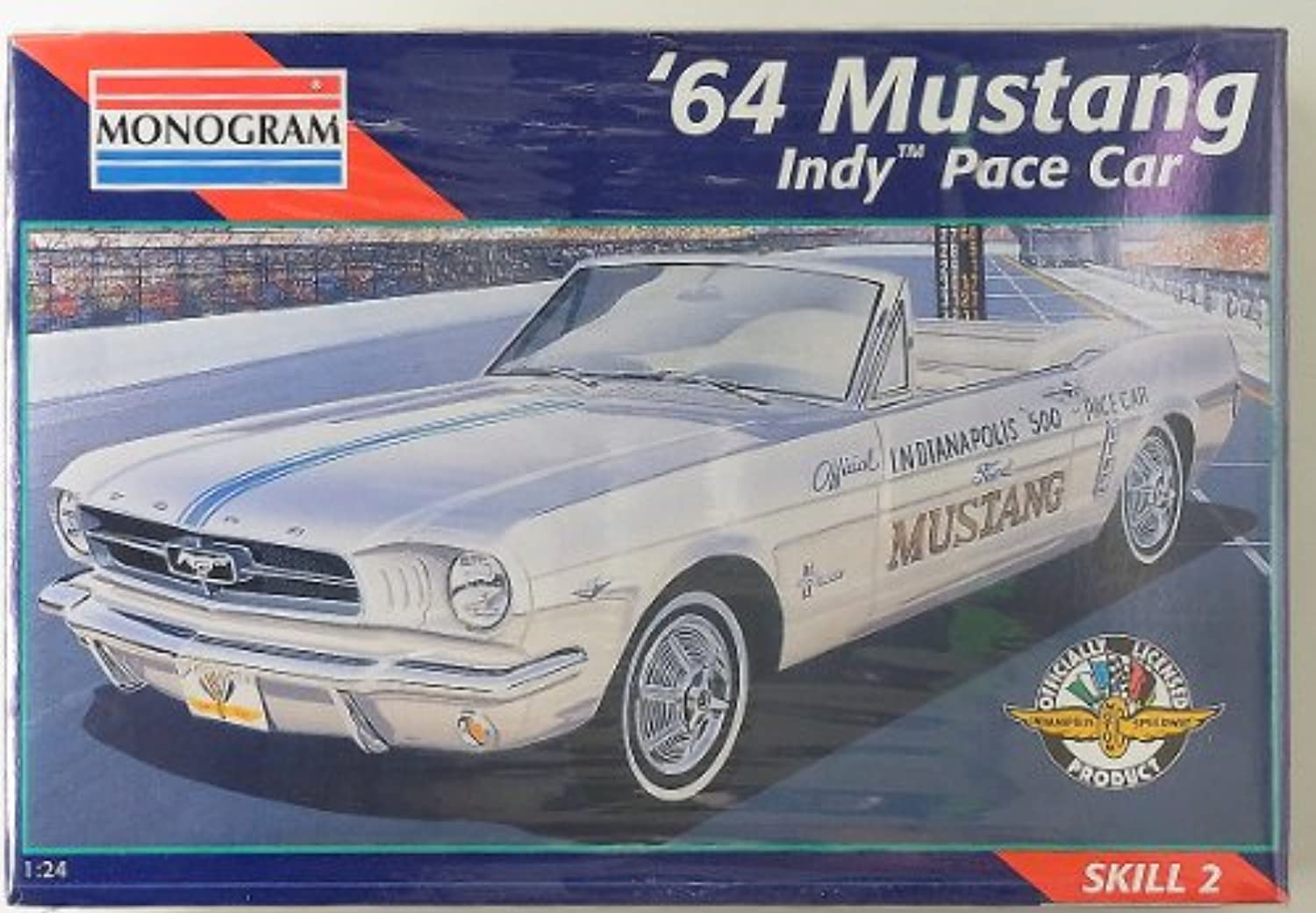 '64 Mustang Indy Pace Car 1 24