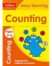 Counting Ages 3-5: Prepare for Preschool with Easy Home Learning