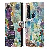 Head Case Designs Licenza Ufficiale Lauren Moss Espandersi Uccelli Cover in Pelle a Portafoglio Compatibile con Motorola Moto G8 Plus