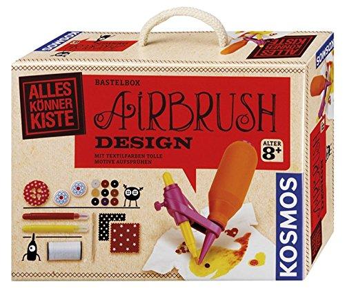 Kosmos 604073 - AllesKönnerKiste, Airbrush Textil-Design
