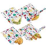 Bolsas reutilizables para bocadillos y otros alimentos