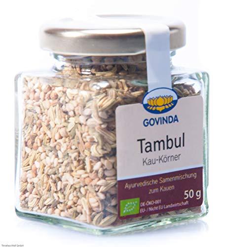 Govinda - Mukhwas Kaukörner (ehem. Tambul) - Ayurvedische Samenmischung zum Kauen, 50 g