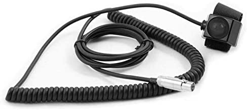 Rugged Radios PTT-VM2-CCXL 3-Pin HD Push to Talk Coil Cord Cable