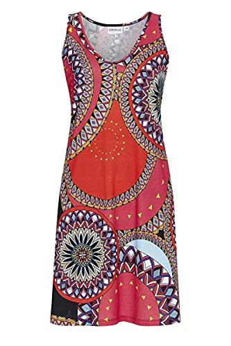 Ringella Beach Damen Kleid mit V-Ausschnitt bunt 40 1221044, bunt, 40