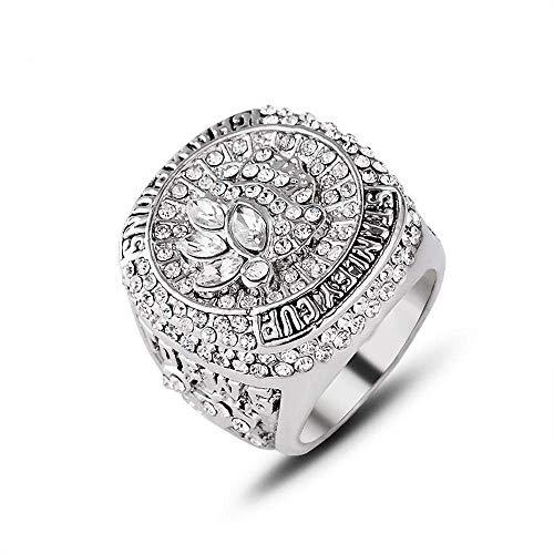 Stilvolle Einfachheit Eishockey Championship Ring 2015 Chicago Blackhawks Stanley Cup Nhl Meisterschaft Ring Sammlung Souvenirs Fans Geschenk Schmuck 11, MN, 11