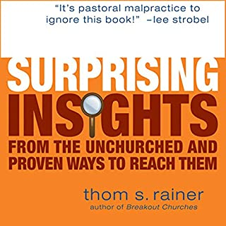 Surprising Insights from the Unchurched audiobook cover art