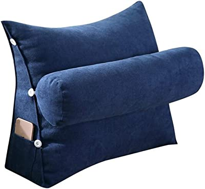 Amazon.com: JIMI-I - Almohada lumbar triangular para cama ...