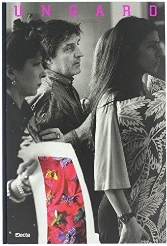 EMANUEL UNGARO. Contributions de Federico Fellini, Katia D.Kaupp, Yves Navarre, H.de Turckheim, Alain Weill. Conception graphique de Italo Lupi.