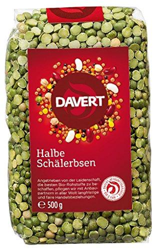 Davert - Halbe Schälerbsen Bio - 500g