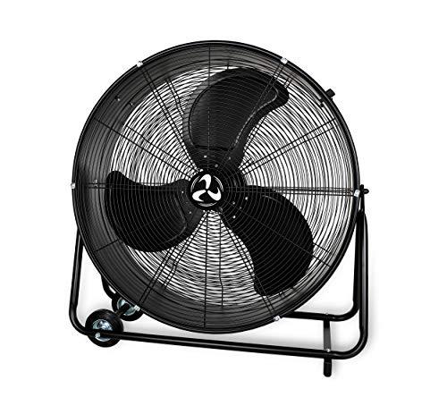 Casafan DF600/800 Eco IP54 industriële staande ventilator, gecertificeerd voor industrieel gebruik, 2006/42/CE, 123W, 2,5 m kabel