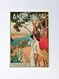 AZSTEEL Vintage Antibes French Riviera Cote D'azur Ad