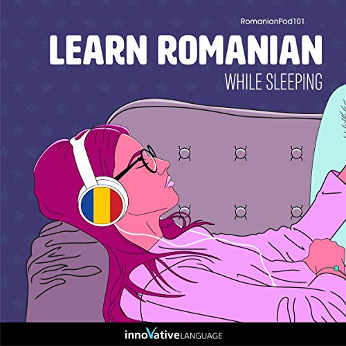 Learn Romanian While Sleeping cover art