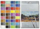 Raffine Watercolor Color Pencil Set - Water Soluble Colored Pencils - Set of 36 Assorted Colors
