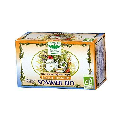 ROMON NATURE Tisane Sommeil Orange - 20 sachets Bio -