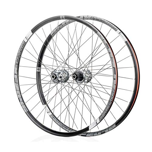 Mountain Bike 26/27.5/29 Inch Wheels, MTB Aluminum Alloy Wheels, Bearing F2/R4, 6 Paw 72click System, Suitable for Road Bikes, Racing Wheel Parts (XF2046)