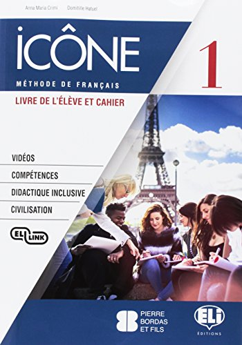 Icône. Livre & Cahier-Livre actif. Per la Scuola media. Con CD Audio cahier [Lingua francese]: Vol. 1