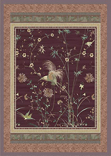Bassetti Plaid | Paradise K1 Porpora 135 x 190