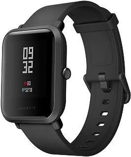 comprar comparacion AMAZFIT Bip Smartwatch Monitor de Actividad Pulsómetro Ejercicio Fitness Reloj Deportivo (Versión Internacional) Negro/Black