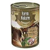 Farm Nature Ganso con Brócoli y Zanahorias Comida Húmedos para Perros 400 G 400 g