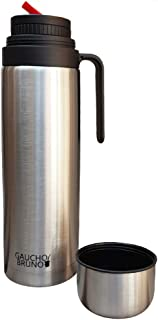 Yerba Mate Flask Gaucho Bruno with Precision Pour Spout